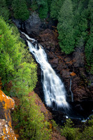 Big Manitou Falls, autumn 2