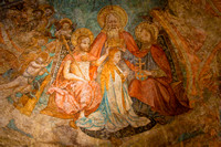 Old fresco in St. Peter's church