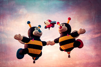 Balloons, Two Bumblebees