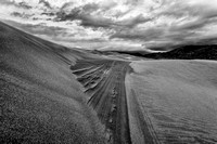 Great Sand Dunes on a stormy day