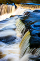 Bond Falls, Upper cascades, close-up 3