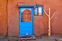 Blue door, Taos