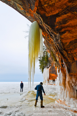 Ice Caves, Lake Superior 4