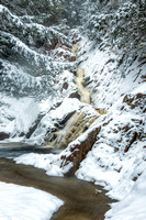 Morgan Falls, winter 1