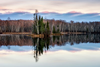 Dawn at Audie Lake